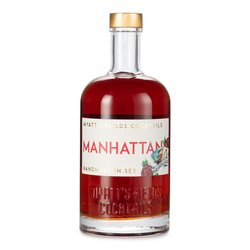 'Manhattan' Rye Whiskey, Vermouth & Bitters Pre-Mixed Cocktail 500ml