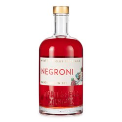Negroni Pre-Mixed Cocktail with Gin, Vermouth & Bitters 500ml