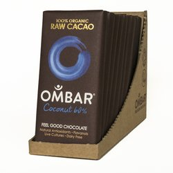 Organic 60% Raw Coconut Chocolate Bars 10 x 35g