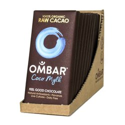 Organic Ombar Coco Mylk Raw Chocolate Bar 10 x 35g