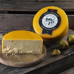 'Beechwood' Smoked Cheddar Cheese 2kg by Snowdonia Cheese Company