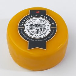 'Nature's Nectar' Mature Cheddar Cheese with Rum Marinated Figs & Honey 2kg by Snowdonia Cheese Company