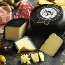 'Black Bomber' Extra Mature Cheddar Cheese 200g by Snowdonia Cheese Company