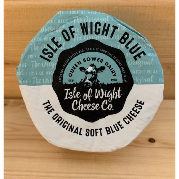 Handmade Isle of Wight Blue Cheese with Guernsey Cows' Milk 180g by Isle of Wight Cheese Co.