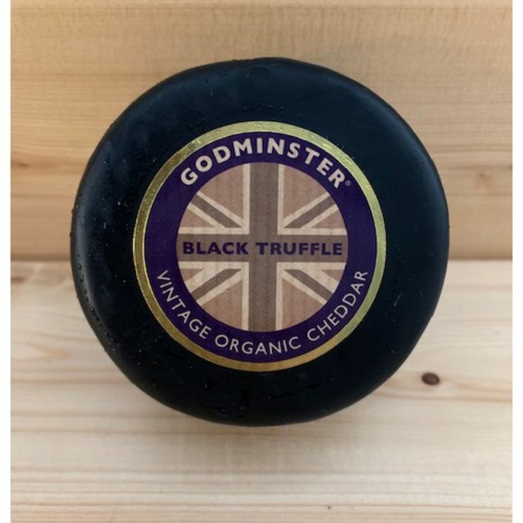 Organic Vintage Cheddar & Truffle Cheese 200g by Godminster