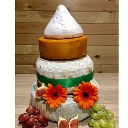 Cheese Cake Tower with Lord London, Smoked Godminster, Idle Hour & Brighton Blue (For Weddings & Parties)