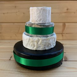 Mini Cheese Cake Tower with Sussex Sheep's, Blue, Camembert & Cheddar (For Weddings & Parties)