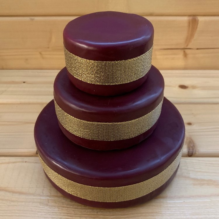 Mini Cheese Cake Tower with Godminster Organic Cheddar (For Weddings & Parties)