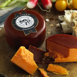 'Red Storm' Red Leicester Cheese 200g by Snowdonia Cheese Company