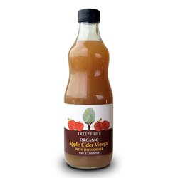 Organic Raw Apple Cider Vinegar with 'The Mother' 500ml