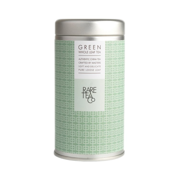 Green Whole Leaf Tea Tin 25g