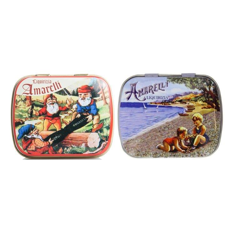 Nanetti Mint & Beach Sugar Coated Italian Liquorice 2 x 20g