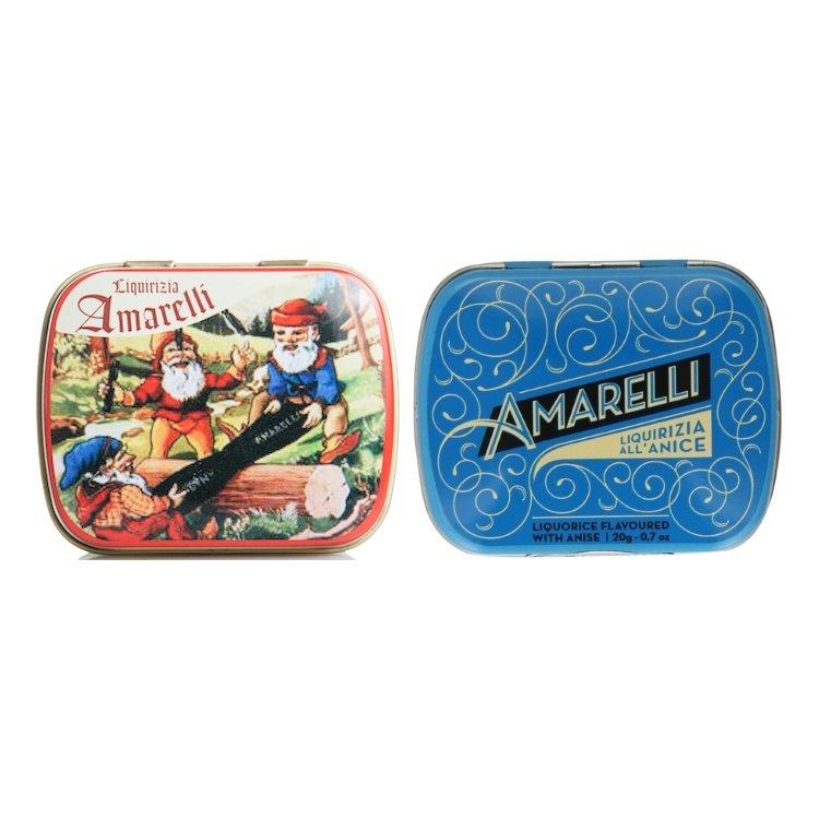 Rombetti Aniseed & Nanetti Mint Italian Liquorice 2 x 20g