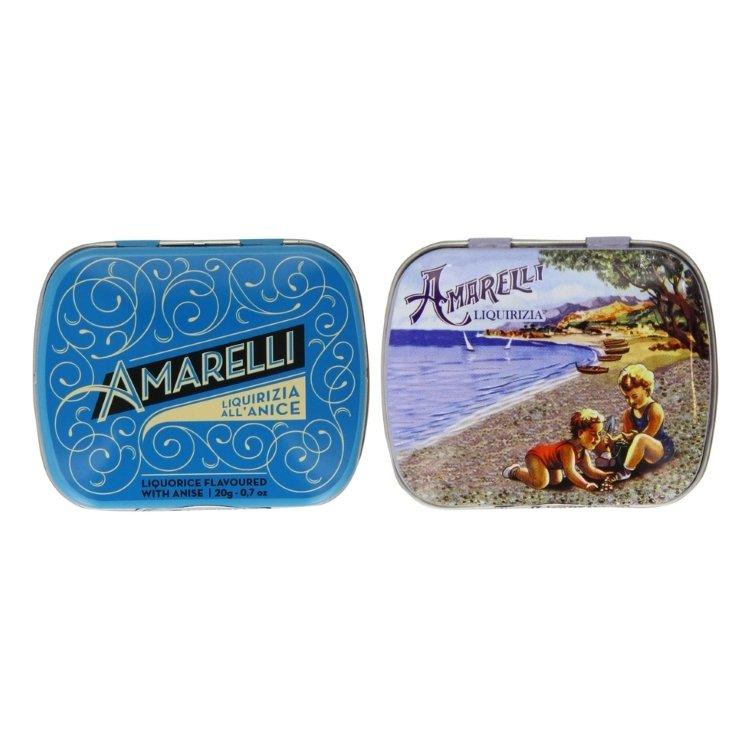 Rombetti Aniseed & Beach Sugar Coated Mint Italian Liquorice 2 x 20g