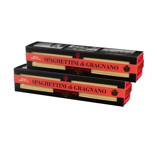 Spaghettini Pasta di Gragnano 2 x 500g (Get 1 Extra Free!)