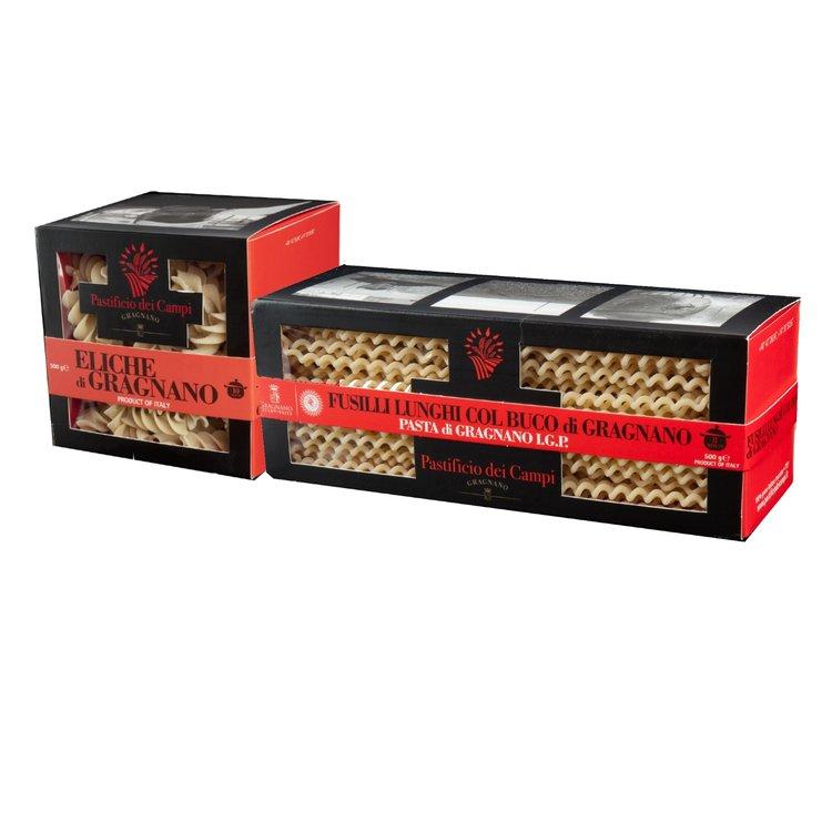 Fusilli Lunghi & Eliche Pasta di Gragnano 2 x 500g