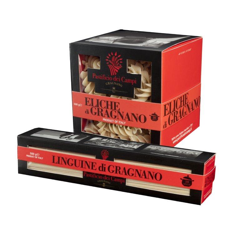 Eliche Pasta & Linguine Pasta di Gragnano 2 x 500g