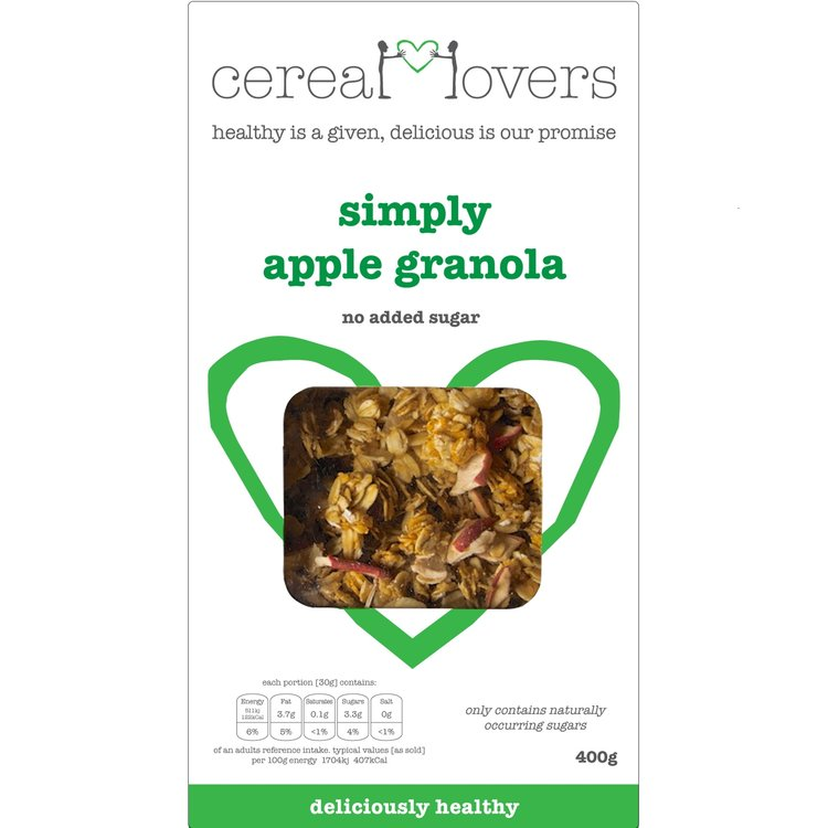Simply Apple Granola 4 x 400g