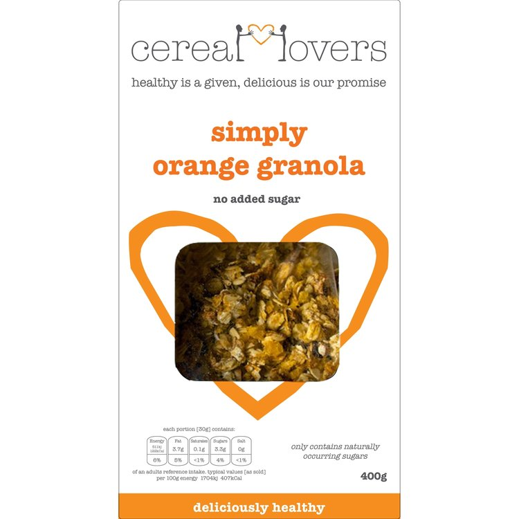 Simply Orange Granola 4 x 400g