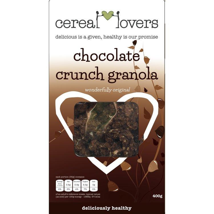 Chocolatecrunchgranola 400g