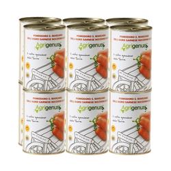 12 x San Marzano Tinned Plum Tomatoes DOP 400g