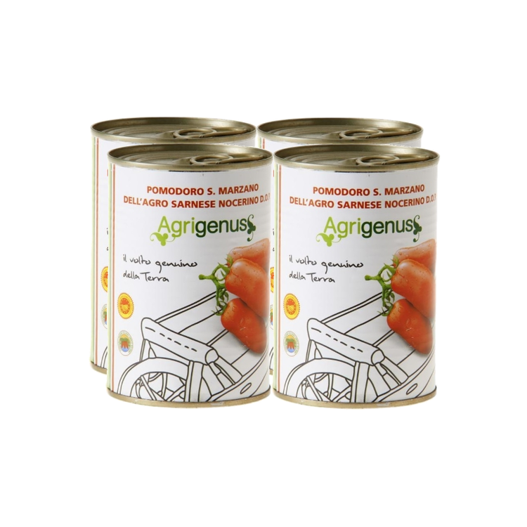 San Marzano Tinned Tomatoes DOP 4 x 400g