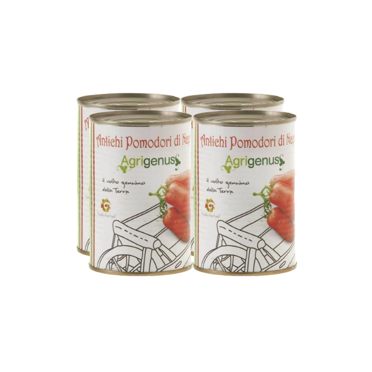 Slow Food San Marzano Tinned Peeled Tomatoes 4 x 400g