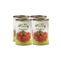 Tinned Cherry Tomatoes 4 x 400g