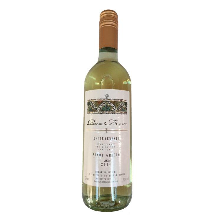 Pinot Grigio White Wine 2014 75cl