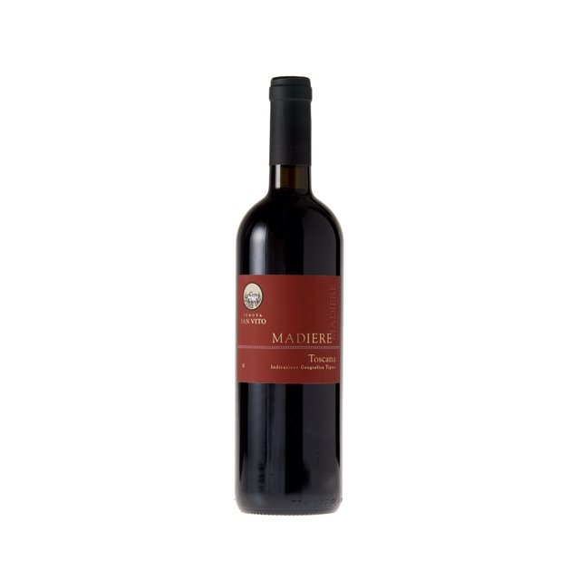 Organic Toscana Madiere Red Wine IGT 6 x 75cl