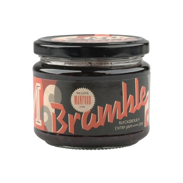 Bramble Cocktail Jam 2 x 300g (Get 1 Extra Chilli Sauce Free!)