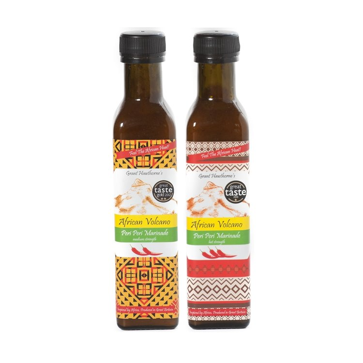 Peri Peri Marinade Set - Medium & Hot 2 x 240ml