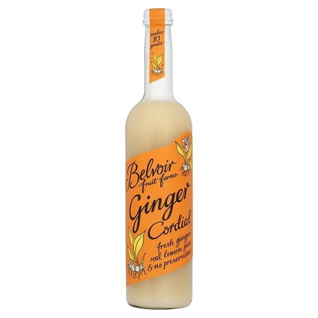 Natural Apple & Ginger Cordial 500ml