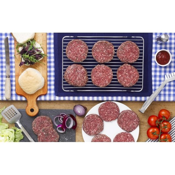 Paul's Beef Burgers 2 x 6 (Get 1 Pack Extra Free!)