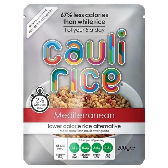 Gluten-Free Cauli Rice Mediterranean 2 x 200g (Get 1 Extra Free!)