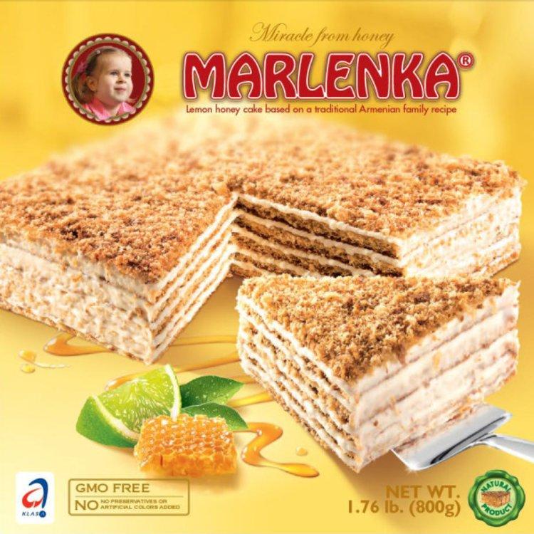 Marlenka lemon cake 600x600