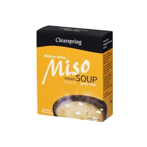 Instant Mellow White Miso Soup with Tofu 4 x 10g