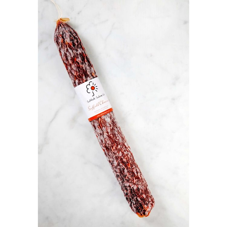 Outdoor Bred Whole Chorizo (British Pork Charcuterie) by Suffolk Salami Co 1kg