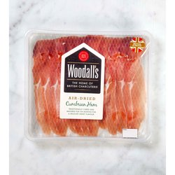 3 x Air-Dried Cumbrian Ham Slices 70g (British Charcuterie)