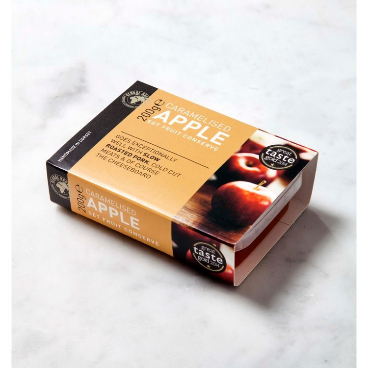Caramelised Apple Set Fruit Conserve (For Cheese & Charcuterie Boards) 200g