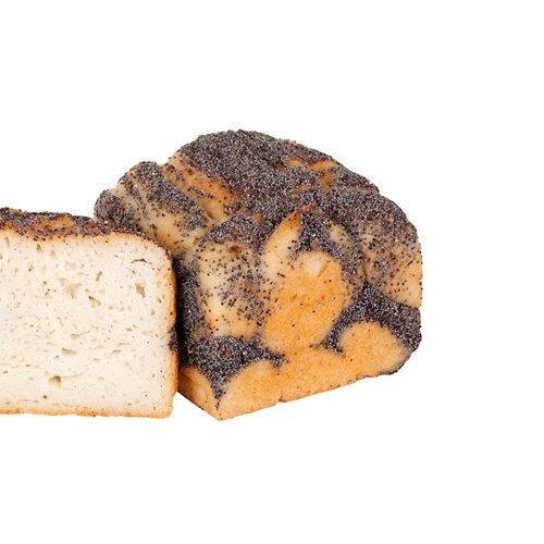 4 x Organic Poppy White Toastie Bread Gluten Free (4 x 400g)
