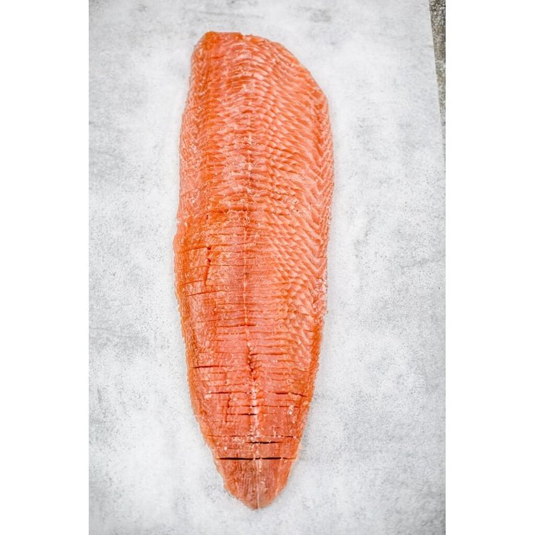 Whole Side Cold Smoked Salmon - Pre-sliced 1kg