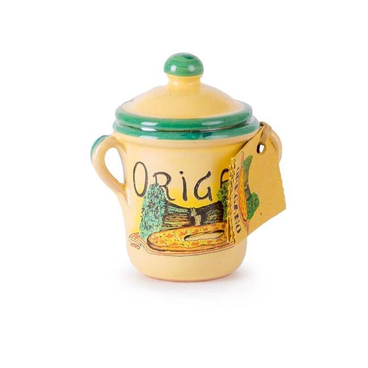Oregano in Hand Made Terracotta Pot 5g