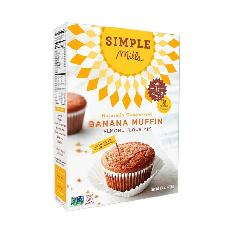 Gluten-Free Banana Muffin Mix With Almond Flour 255g