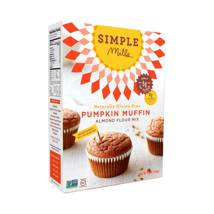 Gluten-Free Pumpkin Muffin Mix With Almond Flour 255g