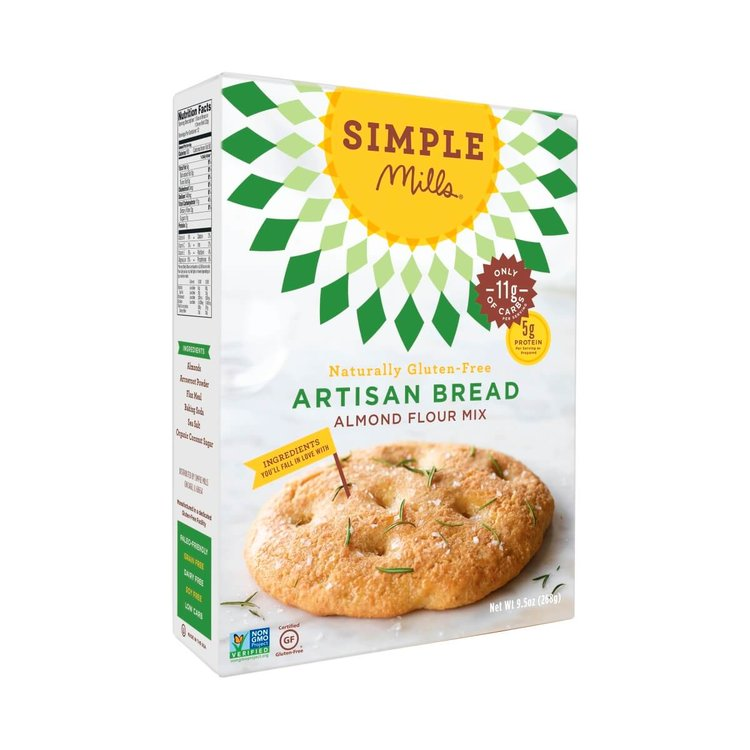 Gluten-Free Artisan Bread Mix With Almond Flour 268g
