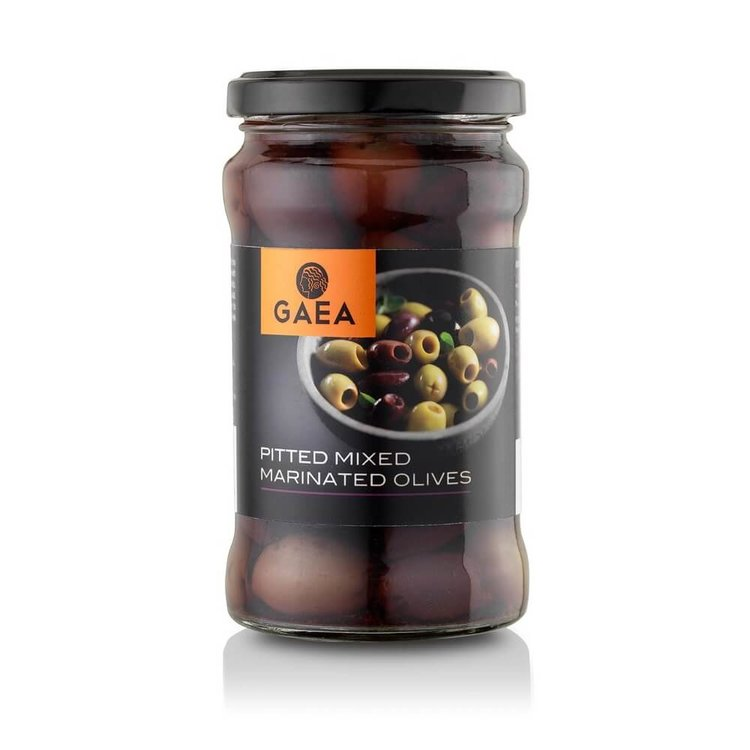 Pitted Mixed Marinated Olives 290g