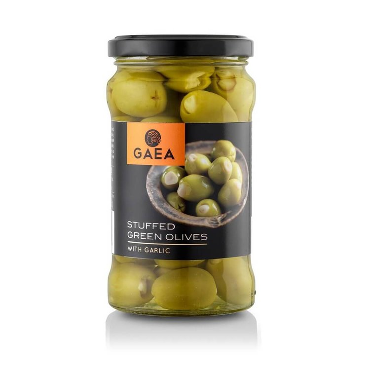 Garlic Stuffed Green Olives 295g