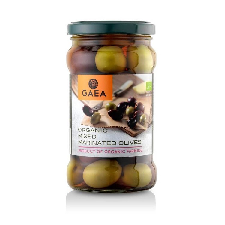 Organic Mixed Marinated Olives 300g