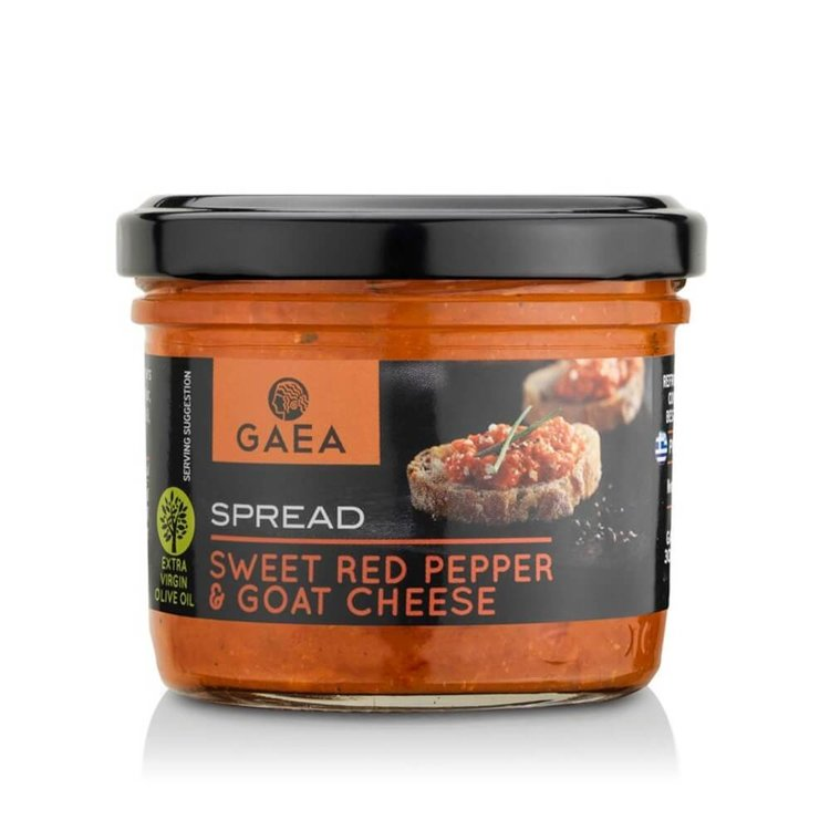 Sweet Red Pepper & Goat Cheese Spread 100g